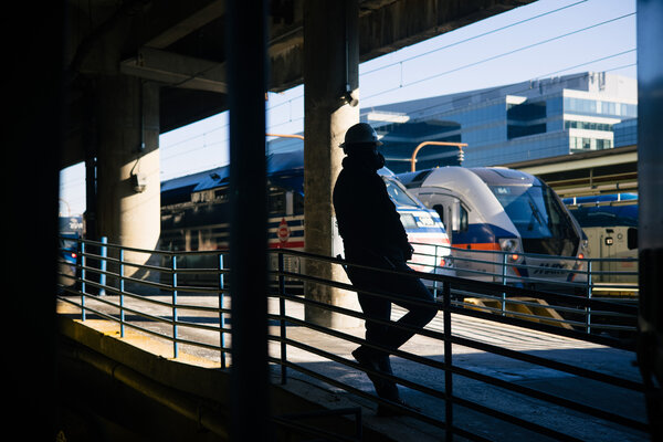 The Biden administration's infrastructure plan proposes $ 80 billion for Amtrak and freight rail.