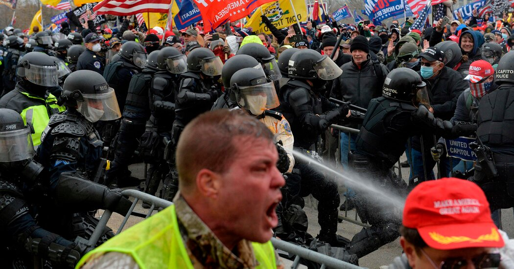 Trump Is Sued by Two Police Officers Over Capitol Riot