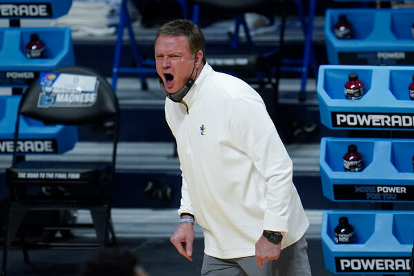 Bill Self signed a lucrative contract extension at Kansas.