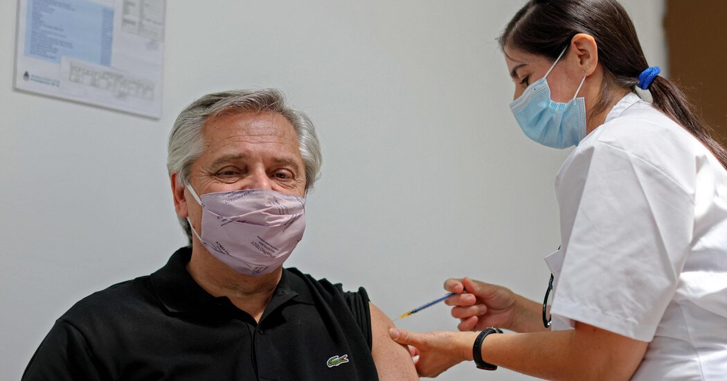 Argentina's President Has Preliminary Positive Virus Test Despite Vaccination