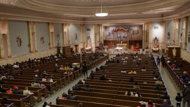 New York allows in-person services this Easter, but some congregations stay virtual.