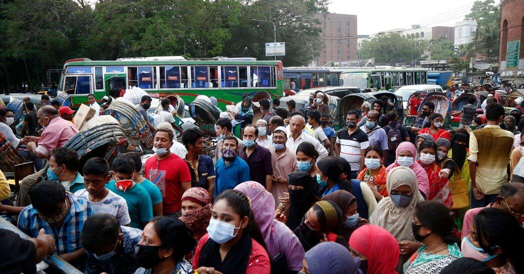 Bangladesh and Parts of India Look to Lockdowns Amid Surges