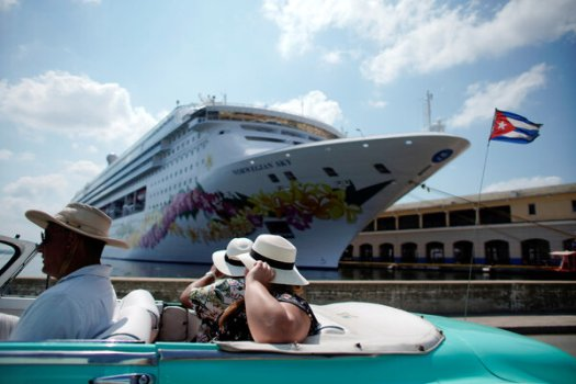 Norwegian Cruise Line outlined a plan on Monday to start cruises in July.
