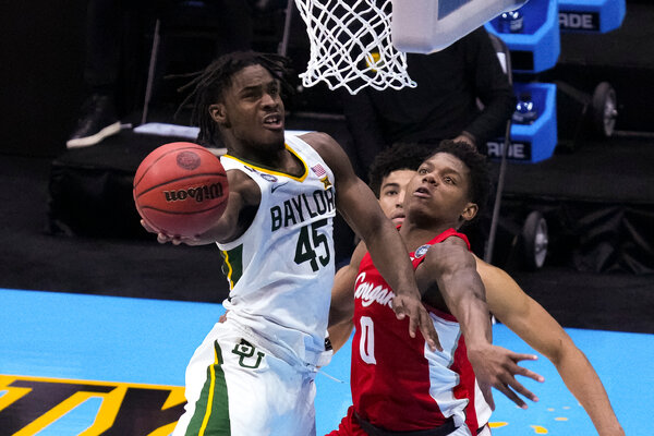 Davion Mitchell of Baylor was named the Naismith Defensive Player of the Year.