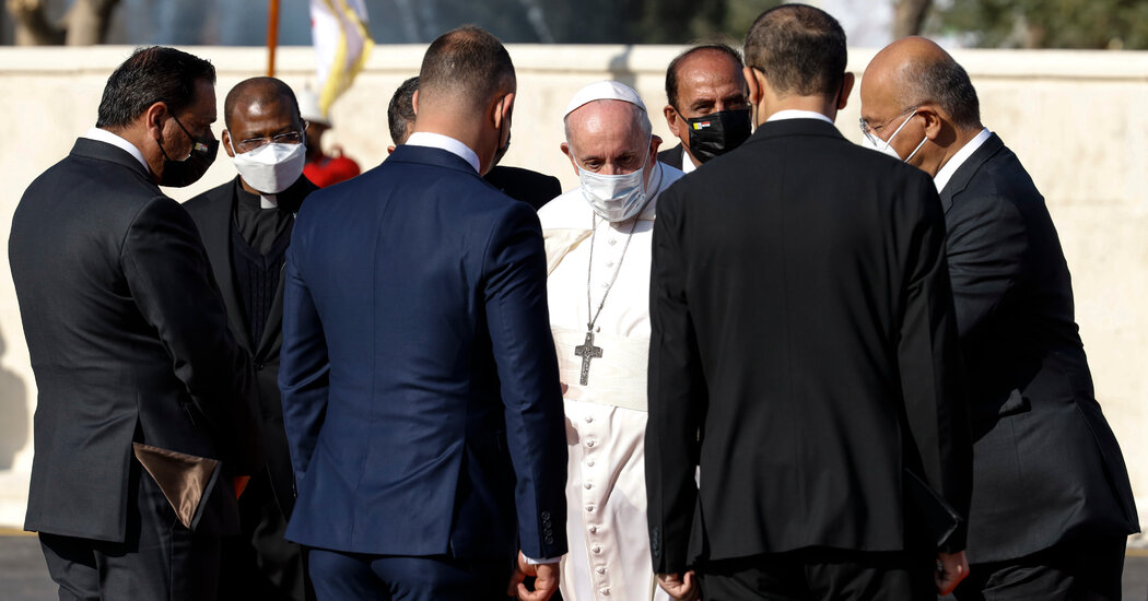Pope Francis Begins Visit to Iraq