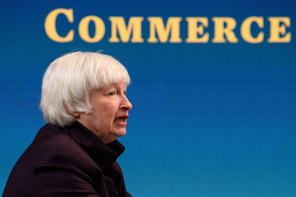 Janet Yellen, the Treasury secretary, warned of a divergence in the global economy if more was not done to help developing nations.