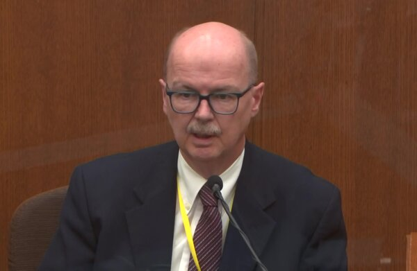 Forensic toxicologist Daniel Isenschmid of NMS Labs in Pennsylvania testifying on Thursday.