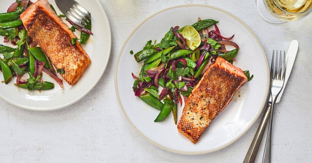 Shine a Spotlight on Peas - The New York Times