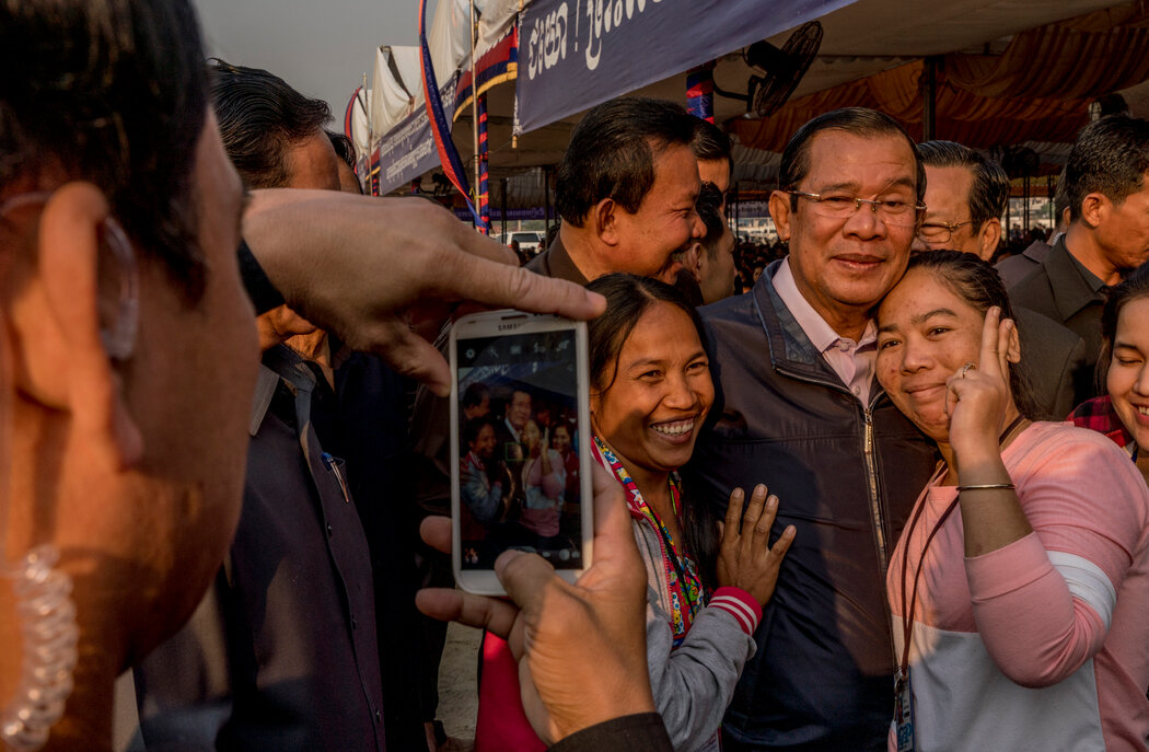 亚洲执政时间最长的首相洪森解散了柬埔寨的反对派。