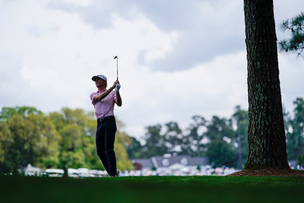 Will Zalatoris, a Masters rookie, started off with a birdie on the first hole to pull within three strokes ofHideki Matsuyama.