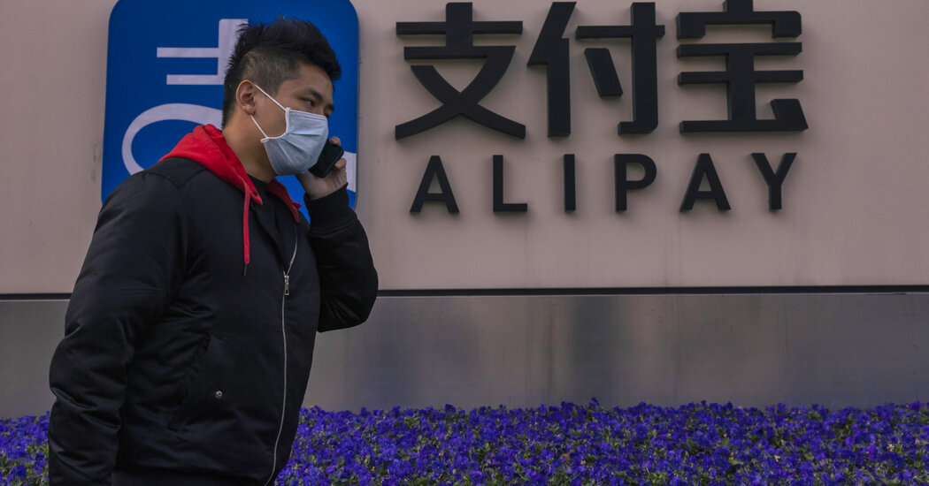 Ant Group Announces Overhaul as China Tightens Its Grip