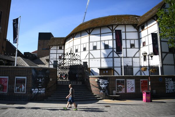 Shakespeare's theater, the Globe, has a long history of closures and reopenings.