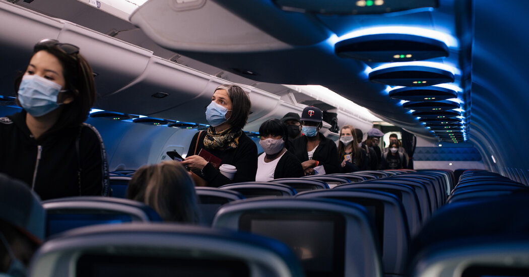 Empty Middle Seats on Planes Cut Coronavirus Risk in Study