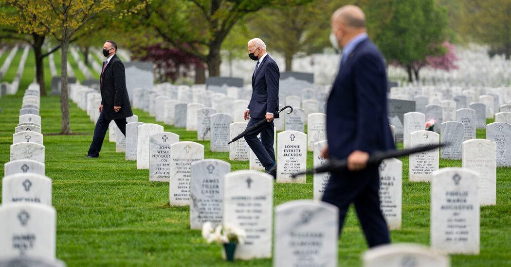 Debating Exit From Afghanistan, Biden Rejected Generals' Views