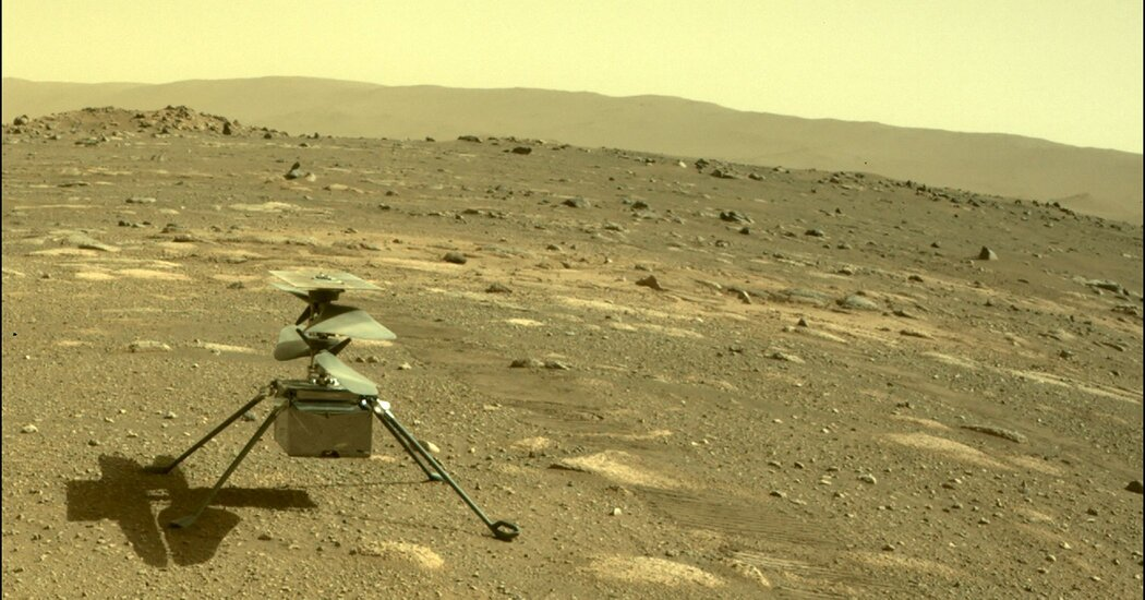 NASA Mars Helicopter's Flight: Livestream, Date and Time