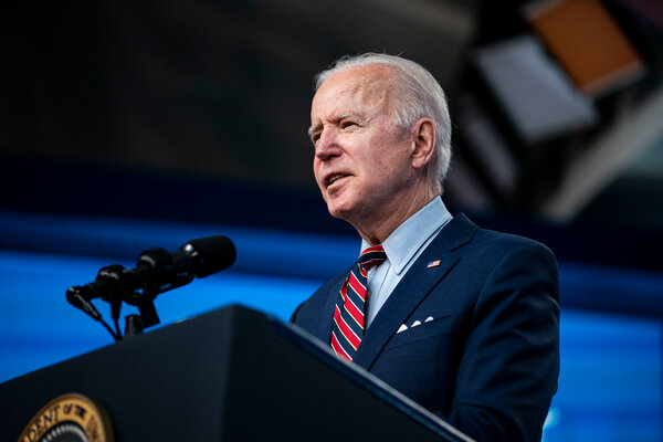 President Biden intends to use his two-day virtual summit on climate change to demonstrate to the world that the Trump administration's approach to the issue was an aberration.