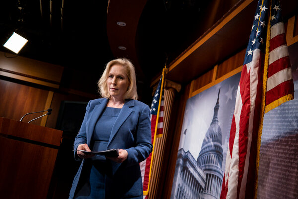 Senator Kirsten Gillibrand, Democrat of New York, and others have argued that having commanders in control of sexual assault cases has prevented service members from coming forward out of fear of retaliation.