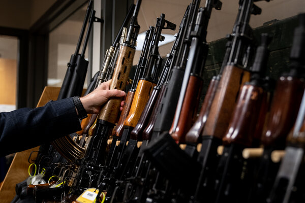 The National Firearms Collection, a library of guns maintained by the A.T.F.