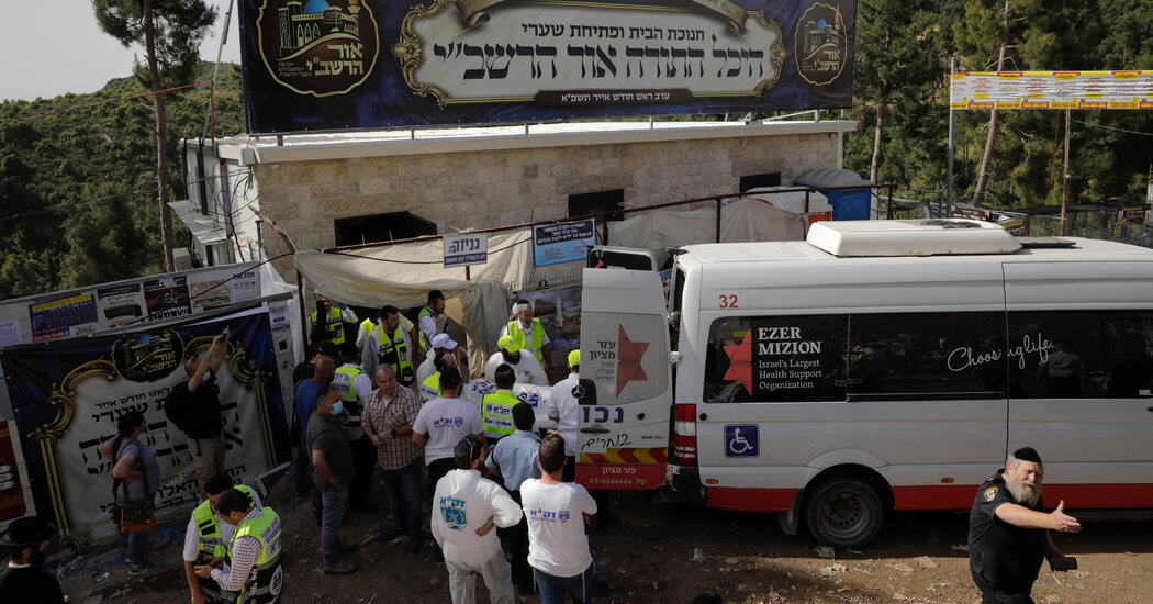 Israel Mourns After Stampede at Religious Festival Kills 45