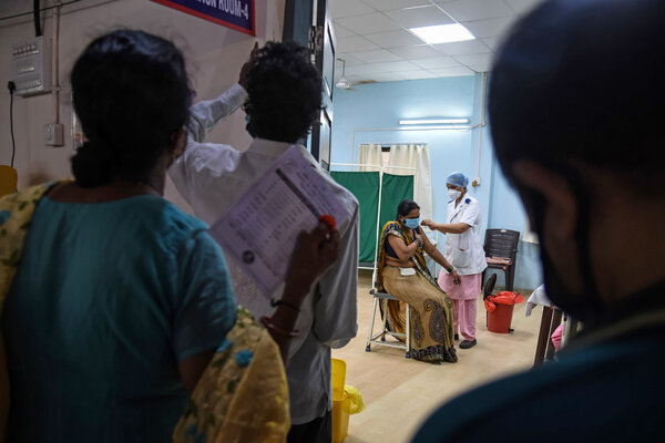 In India's Crisis, the Virus Rages Amid Vaccine Shortages, Swahili Post