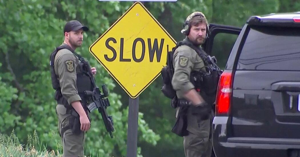 F.B.I. Reports Agent-Involved Shooting at C.I.A. Headquarters