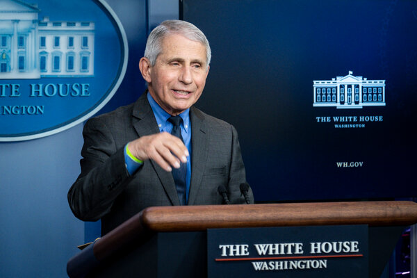 Dr. Anthony S. Fauci,Mr. Biden's chief medical adviser for the pandemic, said drugmakers must expand their manufacturing capacity or transfer their technology to let the developing world make cheap copies of their vaccines.