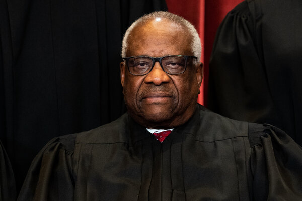 Justice Clarence Thomas has been an active participant in the arguments for every case this term.