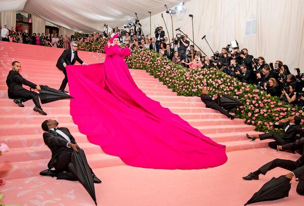 Lady Gaga at the Met Gala in 2019.