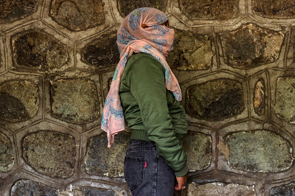 A portrait taken by Mr. Marks of Feleke, a 23-year-old Tigray woman who said she was raped by an Ethiopian soldier in Mekelle. Mr. Marks's media credentials were revoked by the Ethiopian government in response to his reporting from the region in March.