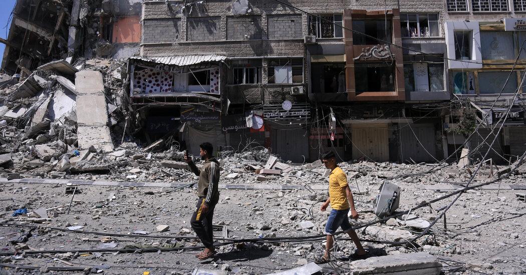 In Gaza, Airstrikes End in Civilian Casualties