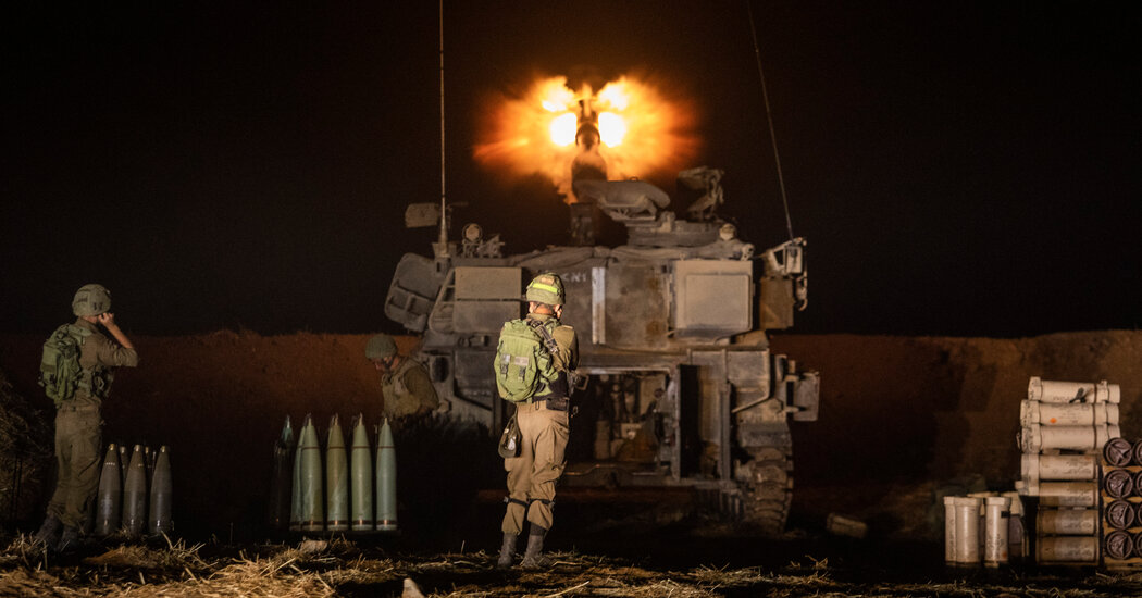 Israel Ground Forces Shell Gaza as Fighting Intensifies