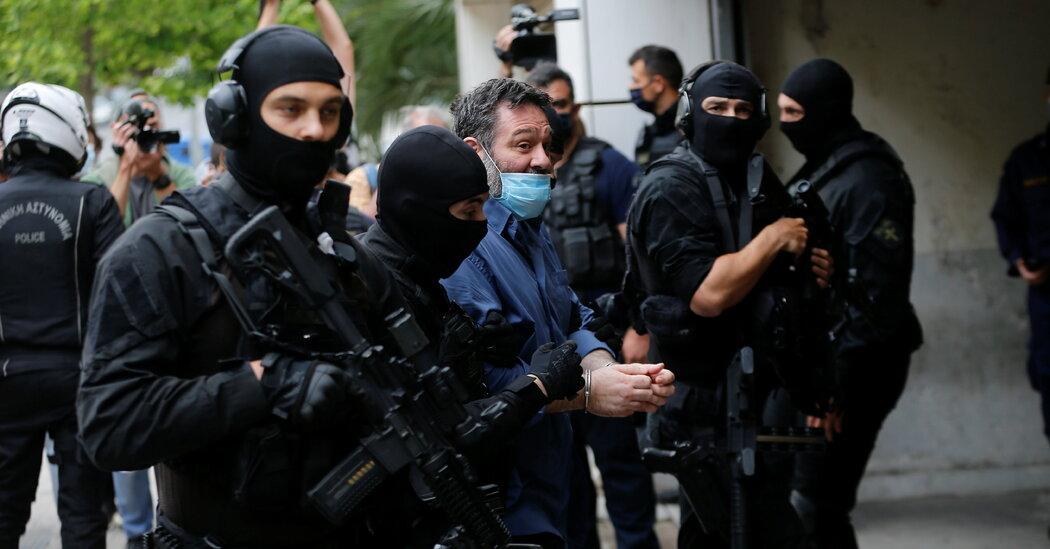 Greek Neo-Nazi, a Member of Europe's Parliament, Sent to Prison