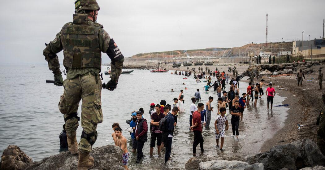 Spain Sends Troops to African Enclave After Migrant Crossings Jump