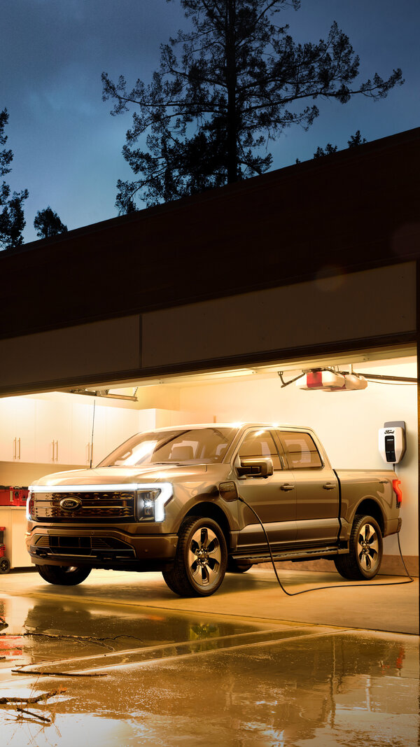 Ford's new electric F-150, called the Lightning, is expected to go on sale next spring.