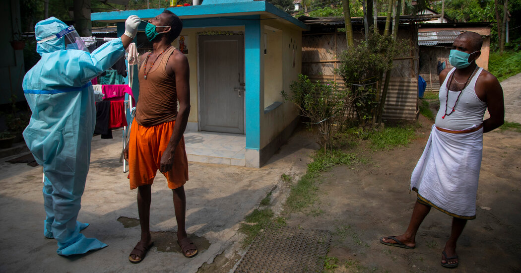 India Ramps Up Coronavirus Testing