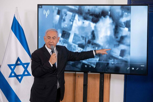 Prime Minister Benjamin Netanyahu of Israel was criticized for not securing the return of Israeli soldiers captured by Hamas and for insufficiently protecting civilians in border towns.