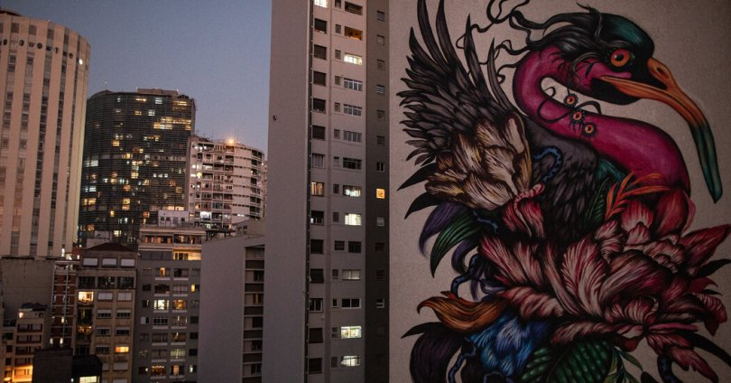 'Good for the Soul': Giant Murals Turn São Paulo Into Open Air Gallery