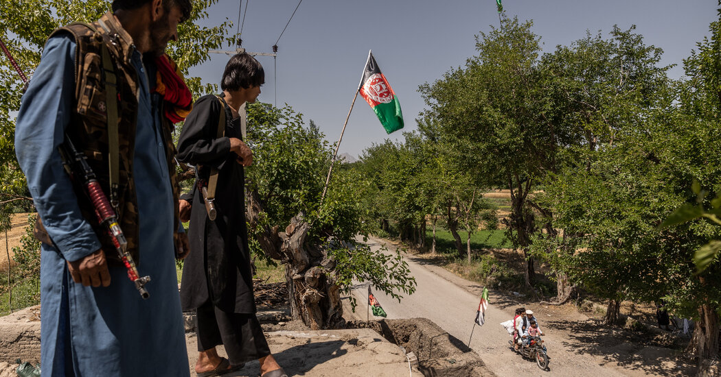 A Wave of Afghan Surrenders to the Taliban Picks Up Speed