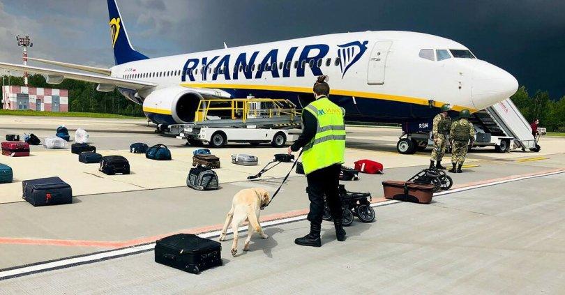 Belarus Forces Down Ryanair Flight Carrying Journalist