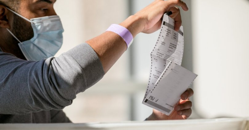 Long After Trump's Loss, a Push to Inspect Ballots Persists