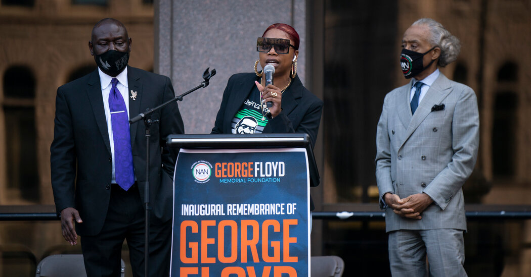 President Biden Marks One-Year Anniversary of Death of George Floyd