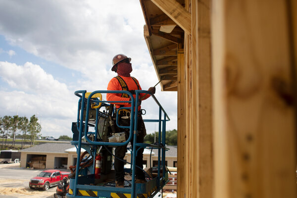 The pandemic has slowed sawmill operations, causing a shortage of lumber that has hampered home building in the United States.
