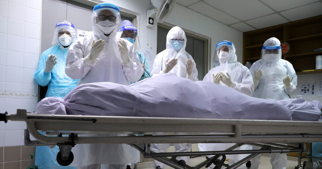 As Rich Countries Emerge From Pandemic, Poorer Nations Sink Deeper