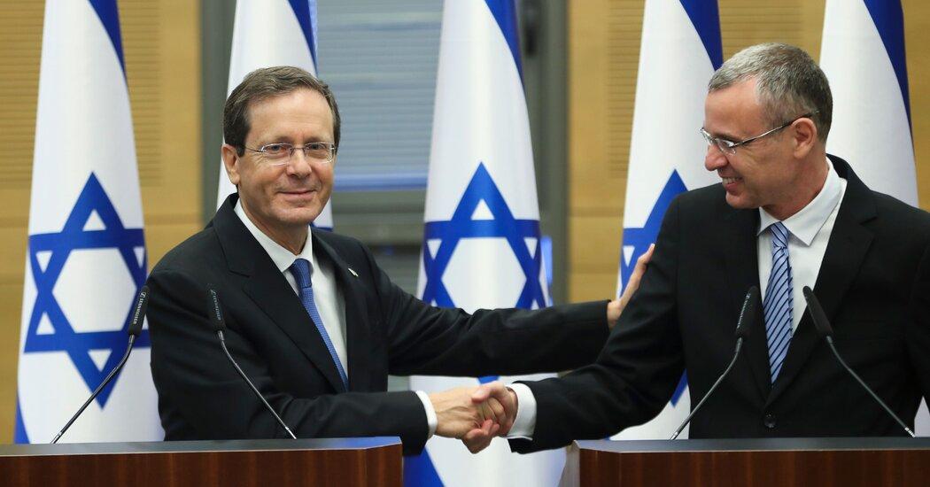 Israeli Lawmakers Elect New President, Isaac Herzog