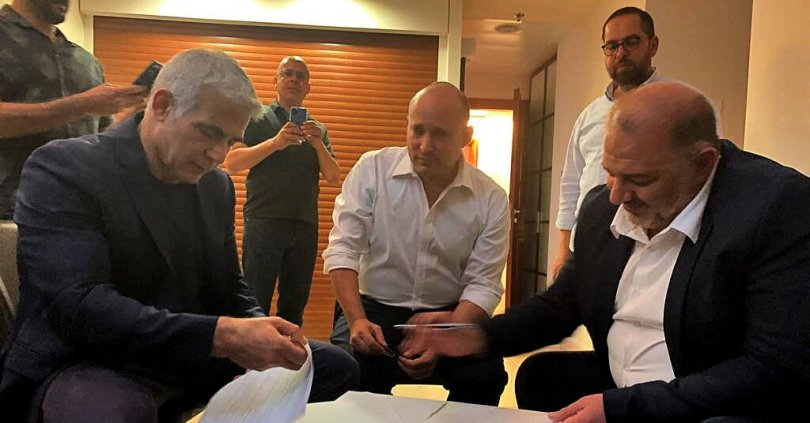 Netanyahu Rivals Agree on Israeli Coalition to Oust Him