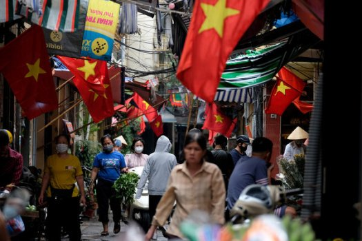 Hanoi shut down restaurants, hair salons and barbershops in late May to prevent the spread of the coronavirus.