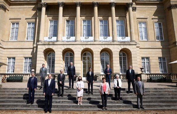 The agreement reached by Group of 7 finance ministers would impose an additional tax on some of the largest multinational companies.