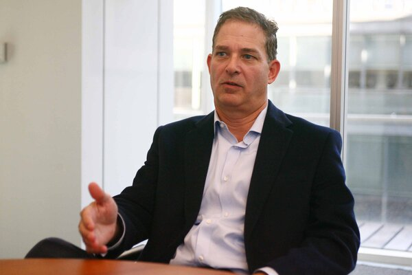 Andy Mills, the president of Medline Industries, in 2012. The company announced on Saturday that it had received a majority investment from a partnership of investors.