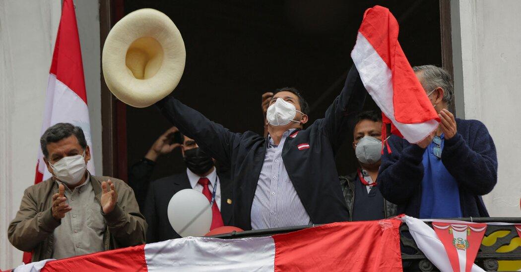 Pedro Castillo Is Declared President-Elect of Peru