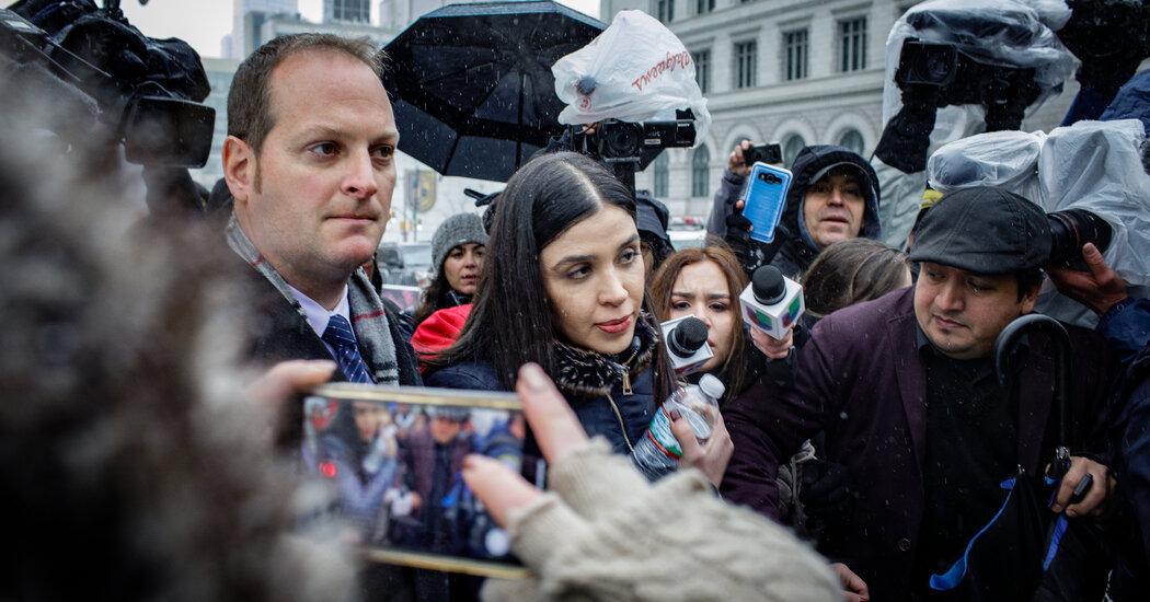 Emma Coronel Aispuro Set to Plead Guilty to Helping Run Drug Empire